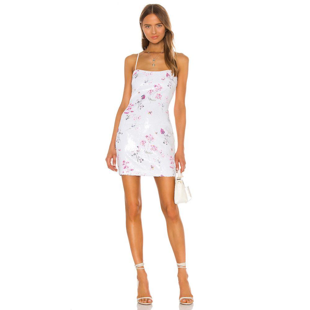 ライクリー LIKELY レディース ワンピース ワンピース・ドレス【Floral Sequin Reese Dress】White Multi
