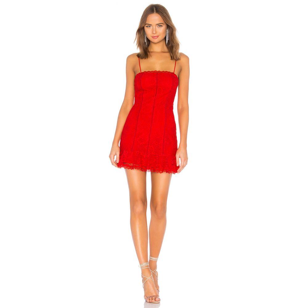 ラヴァーズフレンズ Lovers + Friends レディース ワンピース ワンピース・ドレス【Elizabeth Dress】Red