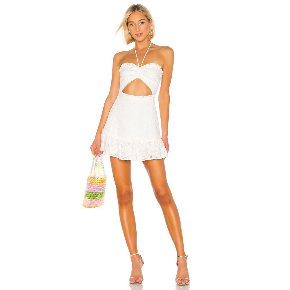 ラヴァーズフレンズ Lovers + Friends レディース ワンピース ワンピース・ドレス【Alan Mini Dress】White