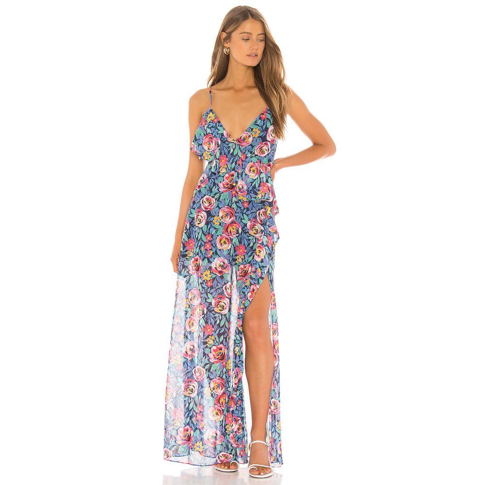ラヴァーズフレンズ Lovers + Friends レディース ワンピース ワンピース・ドレス【Darcy Maxi Dress】Rose Garden Floral