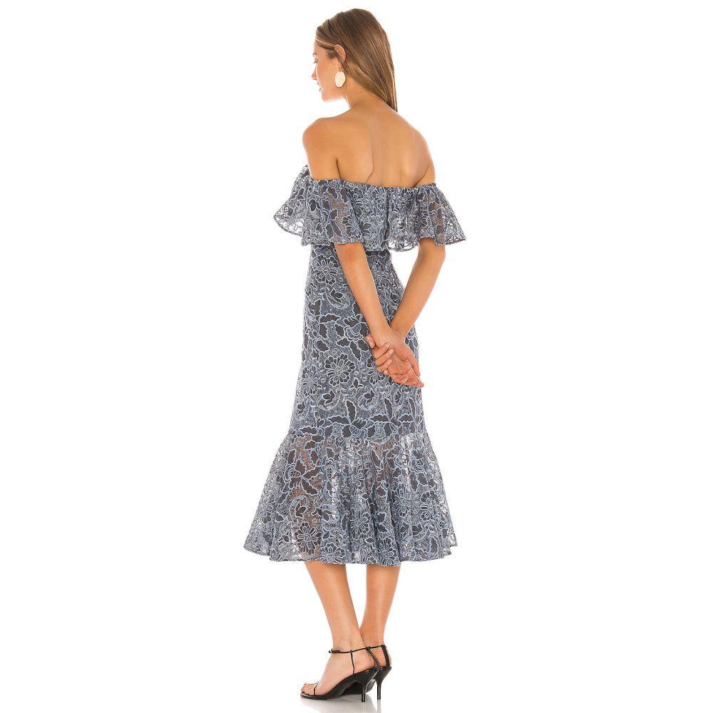 ラヴァーズフレンズ LoversFriends レディース ワンピース ワンピース・ドレス Annora Midi Dress Slate BlueUqSzMVp