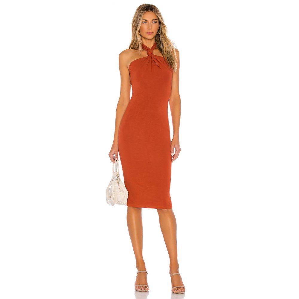 ラヴァーズフレンズ Lovers + Friends レディース ワンピース ワンピース・ドレス【Oritz Midi Dress】Burnt Orange