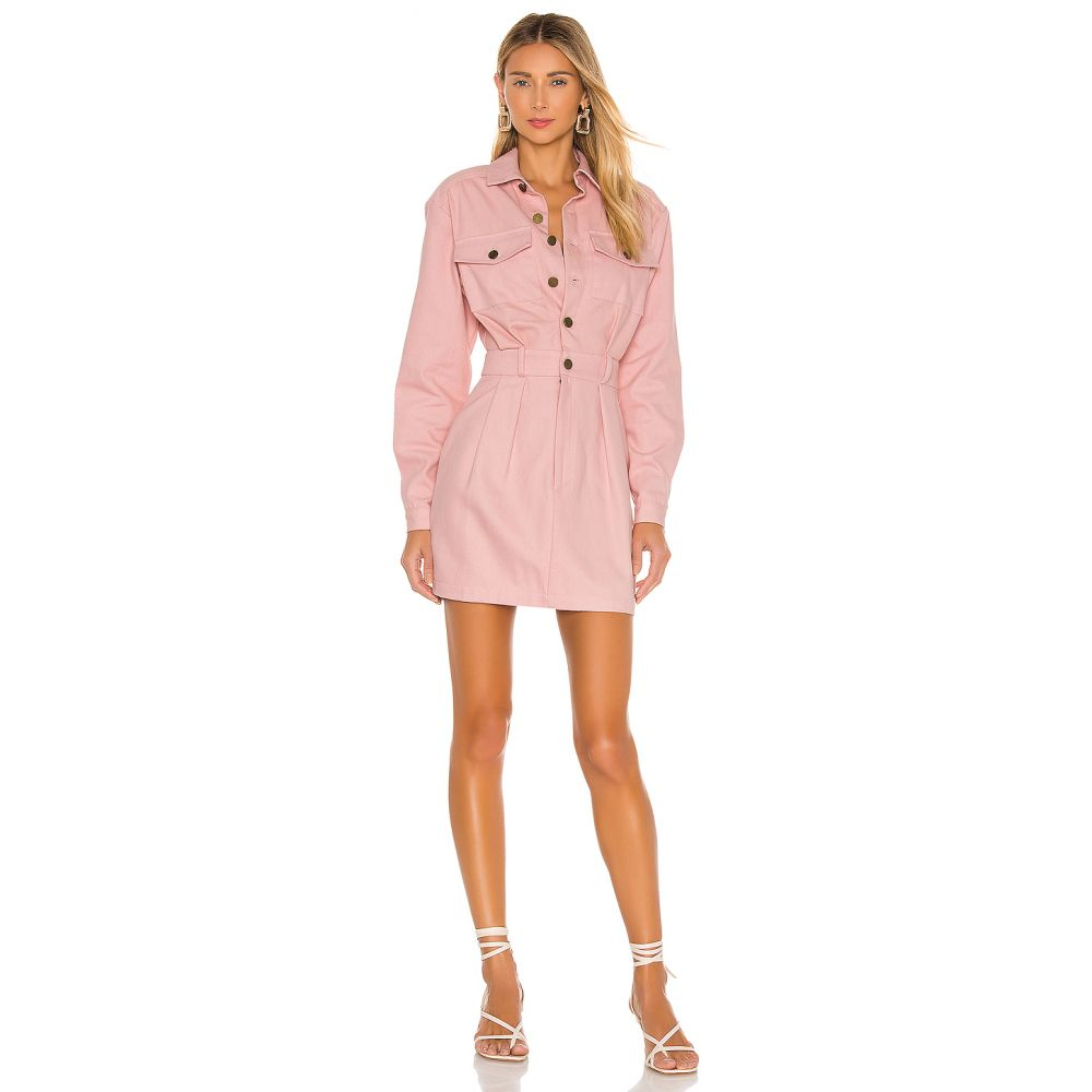 ラヴァーズフレンズ Lovers + Friends レディース ワンピース ワンピース・ドレス【Tibby Mini Dress】Rose Pink