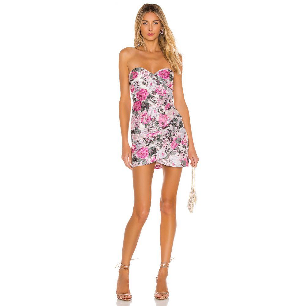ラヴァーズフレンズ Lovers + Friends レディース ワンピース ワンピース・ドレス【Get My Drift Mini Dress】Pink Bouquet