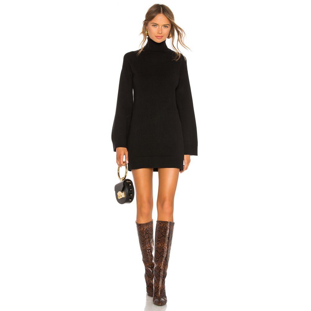 エルピーエー LPA レディース ワンピース ワンピース・ドレス【Fallon Sweater Dress】Black