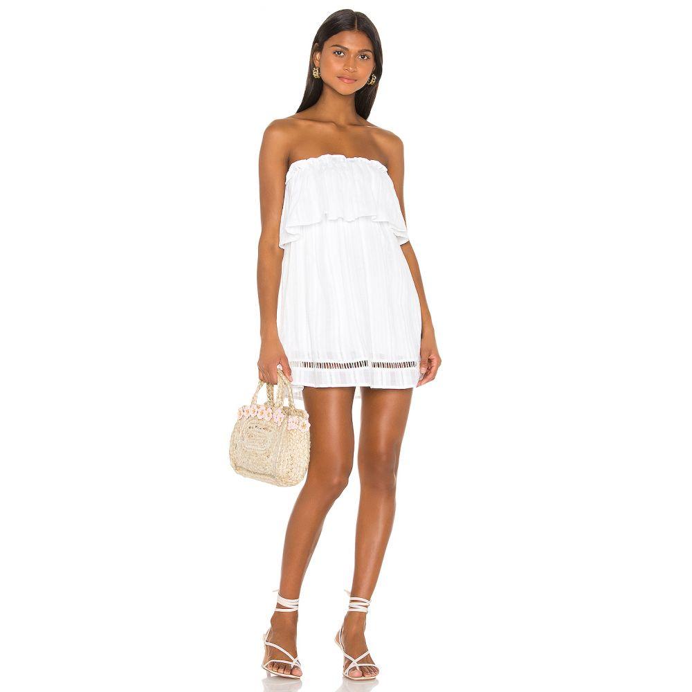 エルピーエー LPA レディース ワンピース ワンピース・ドレス【Leslie Dress】White