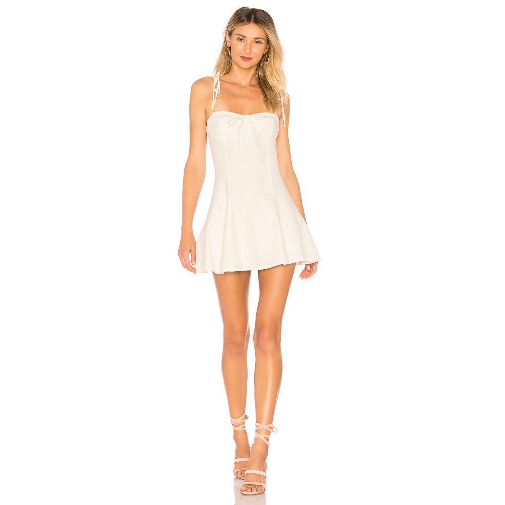 マジョレル MAJORELLE レディース ワンピース ワンピース・ドレス【Tahoe Dress】White