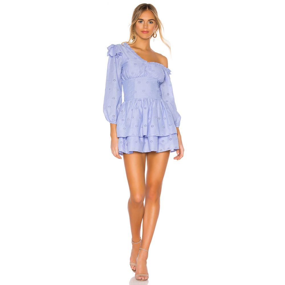 マジョレル MAJORELLE レディース ワンピース ワンピース・ドレス【Oliver Mini Dress】Periwinkle Blue