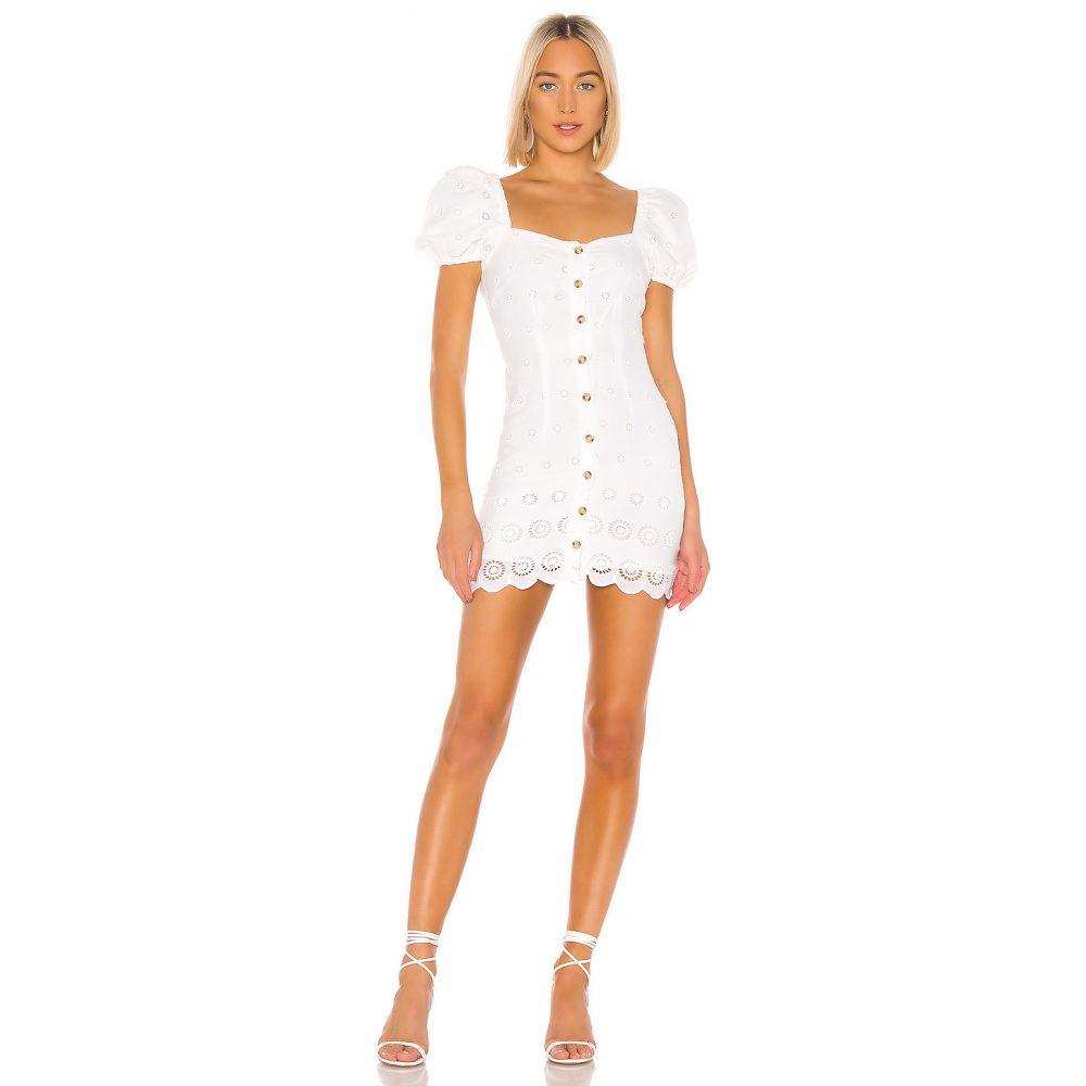 マジョレル MAJORELLE レディース ワンピース ワンピース・ドレス【Johnny Mini Dress】White