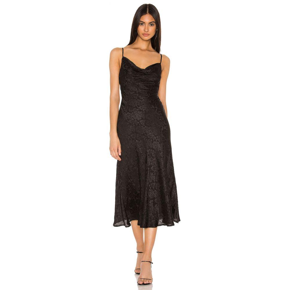 マジョレル MAJORELLE レディース ワンピース ワンピース・ドレス【Adeline Midi Dress】Black