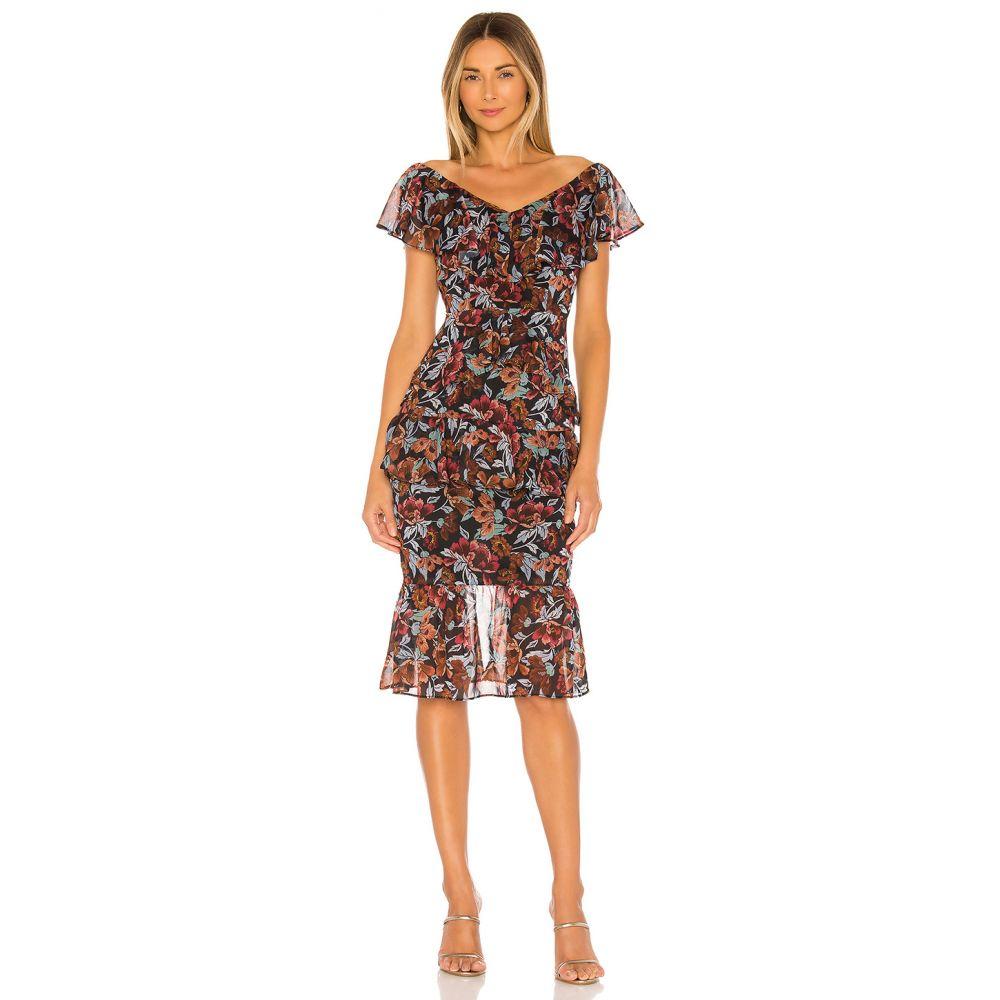マジョレル MAJORELLE レディース ワンピース ワンピース・ドレス【Tina Midi Dress】Winter Multi