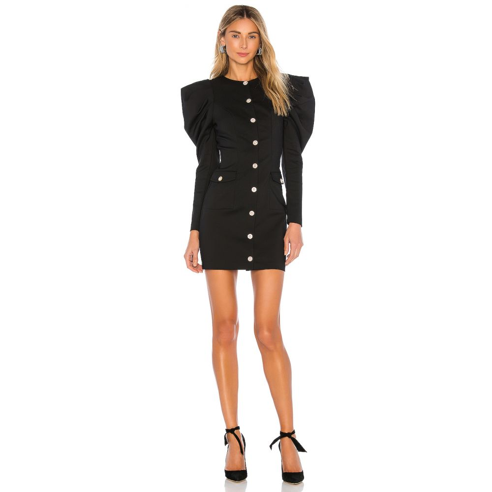 マジョレル MAJORELLE レディース ワンピース ワンピース・ドレス【Coretta Mini Dress】Black