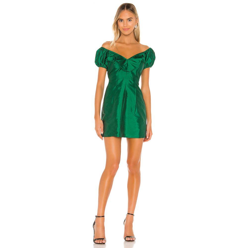 マジョレル MAJORELLE レディース ワンピース ワンピース・ドレス【Devora Mini Dress】Green