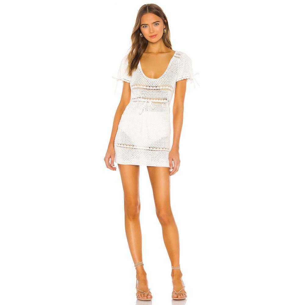 マジョレル MAJORELLE レディース ワンピース ワンピース・ドレス【Calca Crochet Dress】White