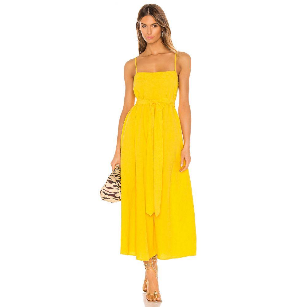 マラ ホフマン Mara Hoffman レディース ワンピース ワンピース・ドレス【Philomena Dress】Yellow