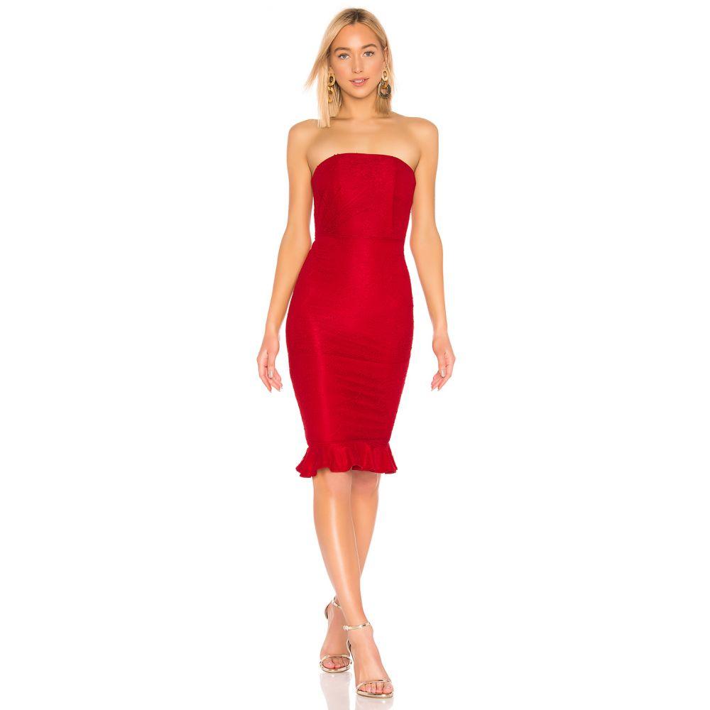 マイケル コステロ Michael Costello レディース ワンピース ワンピース・ドレス【X REVOLVE Ericka Dress】Red