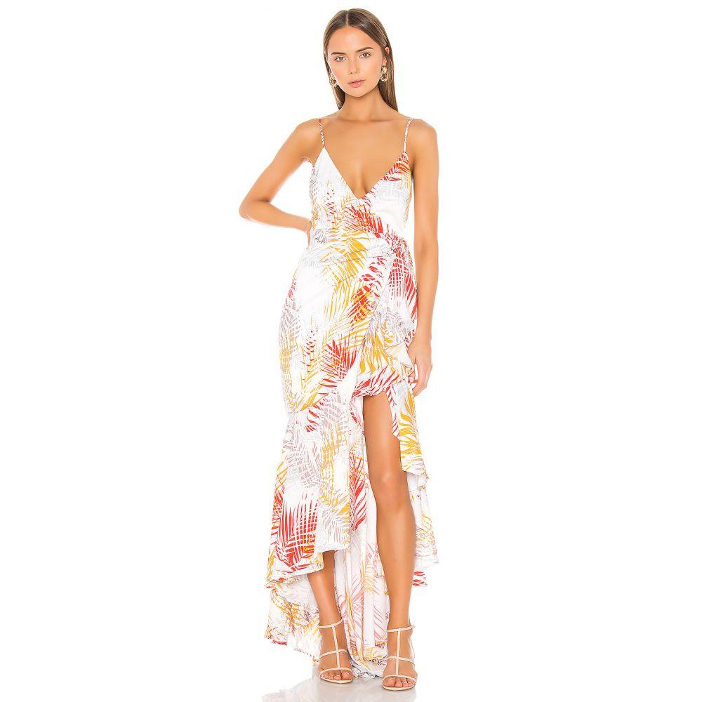 マイケル コステロ Michael Costello レディース ワンピース ワンピース・ドレス【x REVOLVE Atienne Dress】Tropical Palm