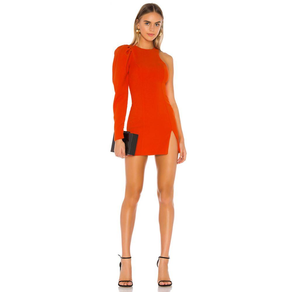マイケル コステロ Michael Costello レディース ワンピース ワンピース・ドレス【x REVOLVE Laise Mini Dress】Red Orange