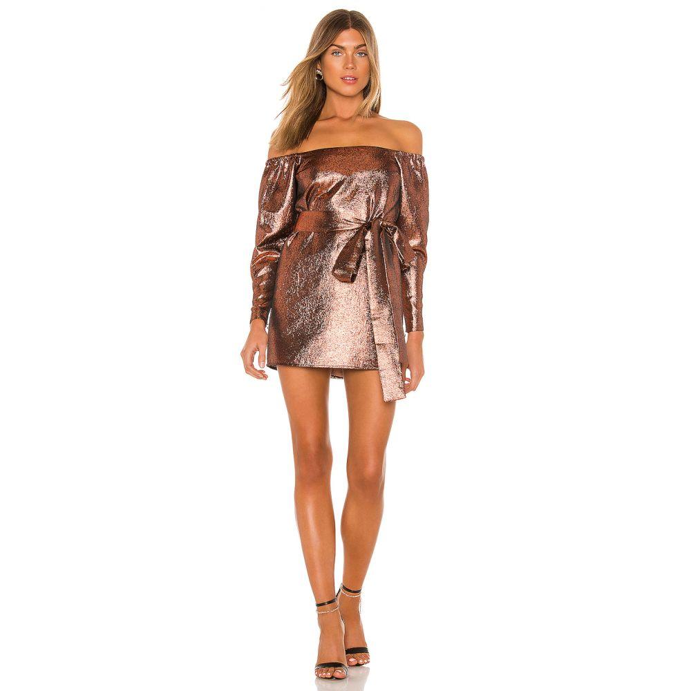 マイケル コステロ Michael Costello レディース ワンピース ワンピース・ドレス【x REVOLVE Hadley Mini Dress】Bronze