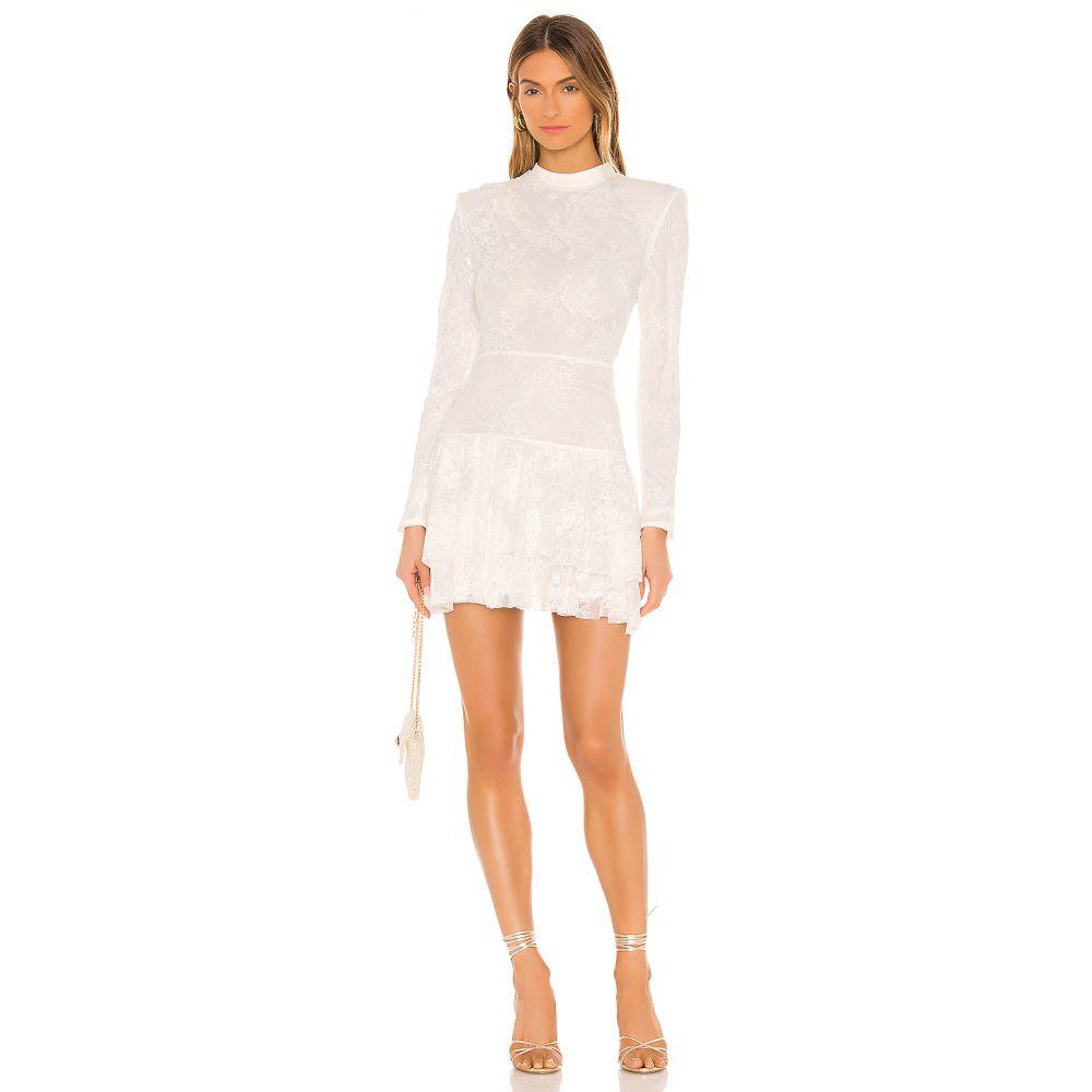 マイケル コステロ Michael Costello レディース ワンピース ワンピース・ドレス【x REVOLVE Onex Mini Dress】White