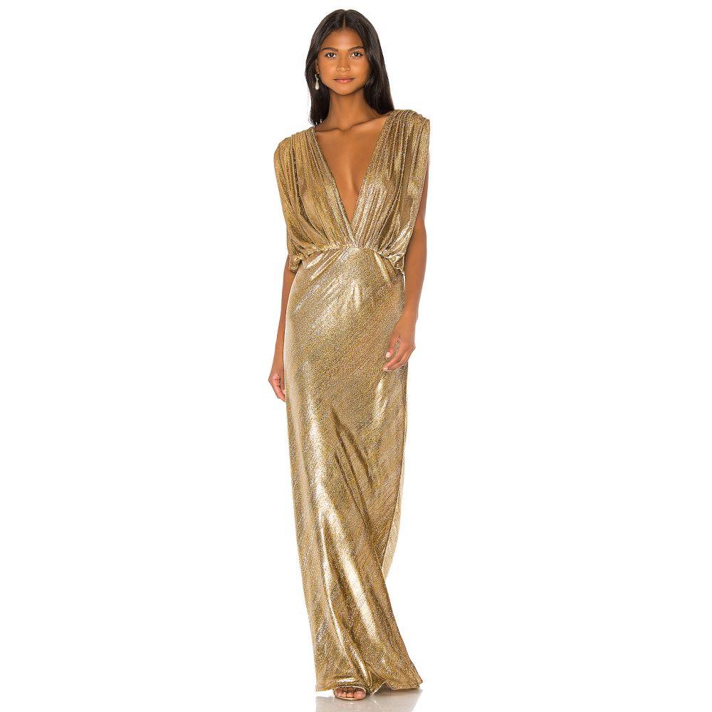 メドモアゼル Mes Demoiselles レディース ワンピース ワンピース・ドレス【Helen Dress】Gold