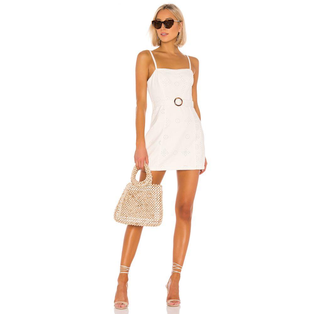 ミンクピンク MINKPINK レディース ワンピース ワンピース・ドレス【To The Coast Broderie Dress】White