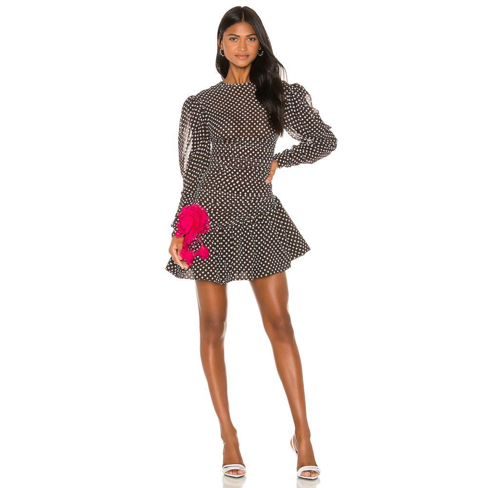 マリアナシンシア MARIANNA SENCHINA レディース ワンピース ワンピース・ドレス【Mignolia Dress】Brown/White Polka Dot