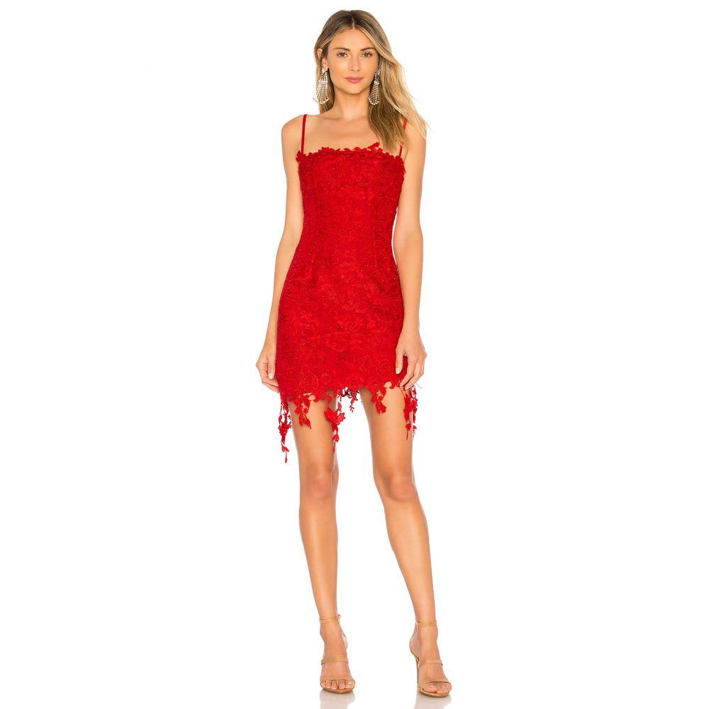 エヌビーディー NBD レディース ワンピース ワンピース・ドレス【Yosemite Mini Dress】Red
