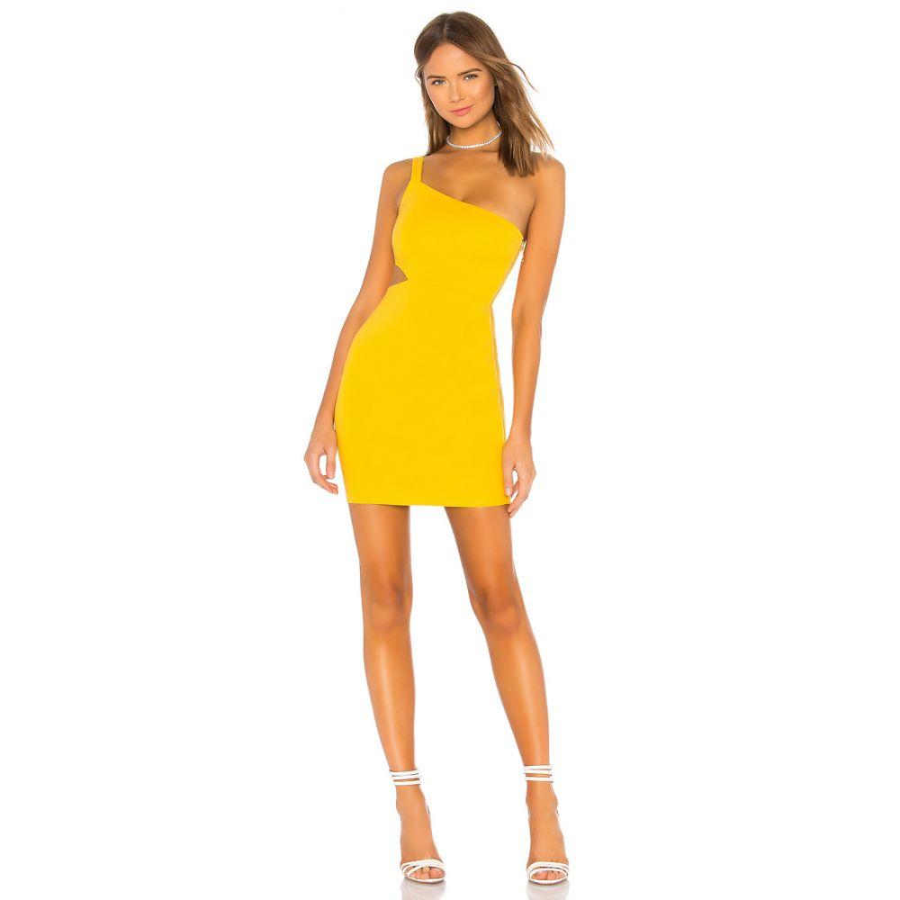 エヌビーディー NBD レディース ワンピース ワンピース・ドレス【x NAVEN Cara Dress】Canary Yellow
