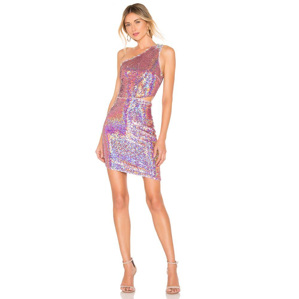 エヌビーディー NBD レディース ワンピース ワンピース・ドレス【x Naven Brooke Dress】Multi Pink