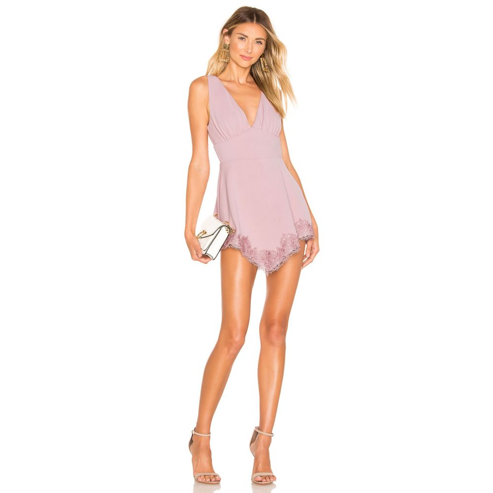 エヌビーディー NBD レディース ワンピース ワンピース・ドレス【Alexandra Mini Dress】Pastel Pink