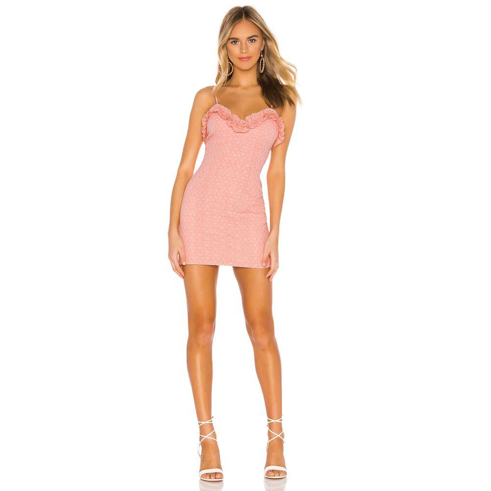 エヌビーディー NBD レディース ワンピース ワンピース・ドレス【Sadie Mini Dress】Pastel Pink