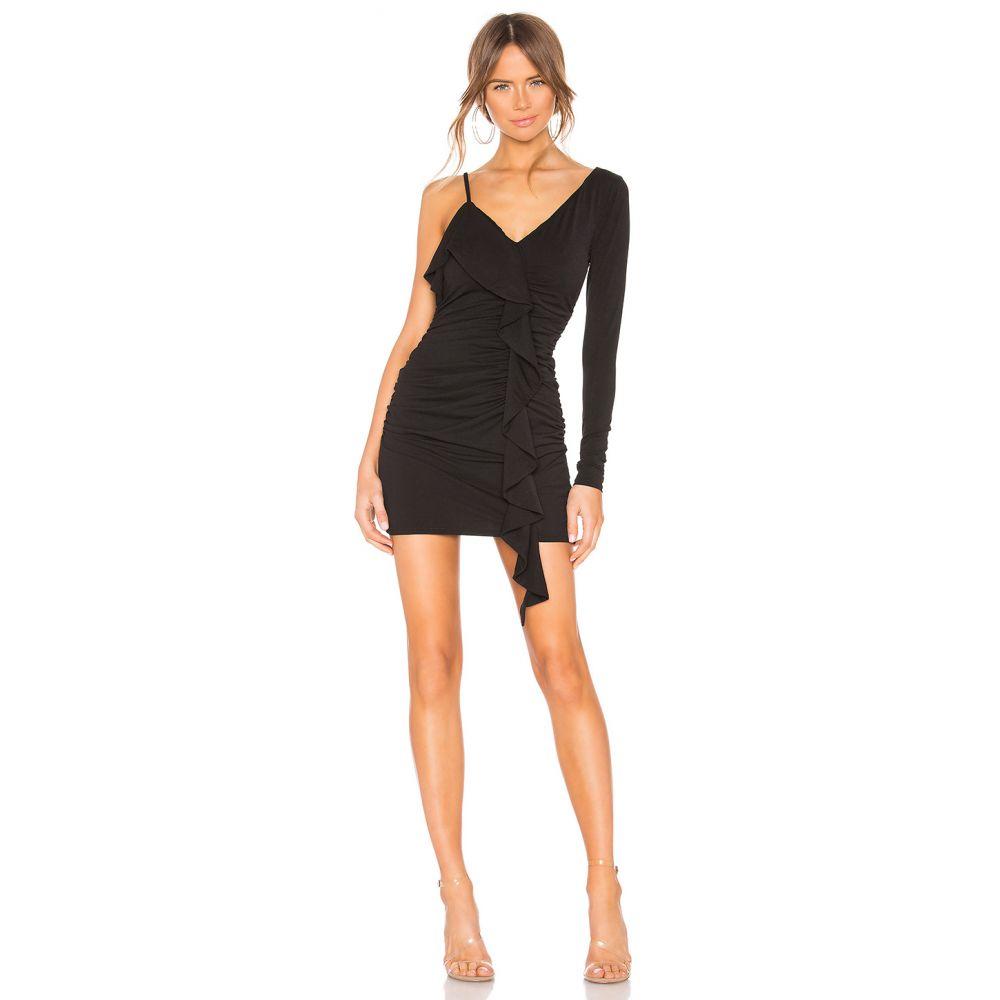 エヌビーディー NBD レディース ワンピース ワンピース・ドレス【Adelaide Mini Dress】Black