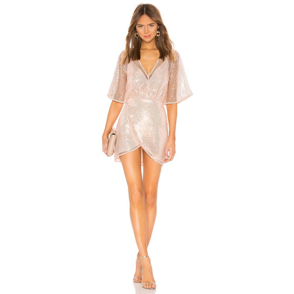 エヌビーディー NBD レディース ワンピース ワンピース・ドレス【x Naven Nicole Dress】Peach Blush