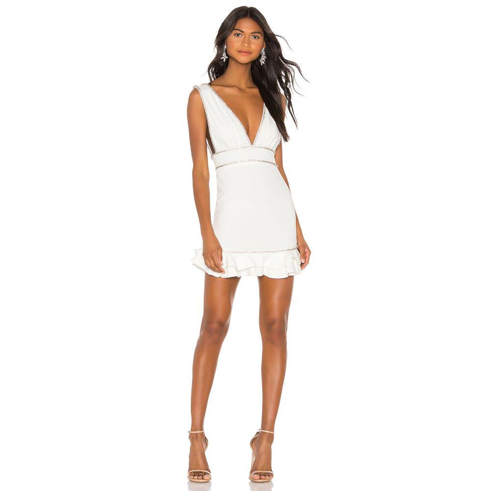 エヌビーディー NBD レディース ワンピース ワンピース・ドレス【Santrie Mini Dress】White