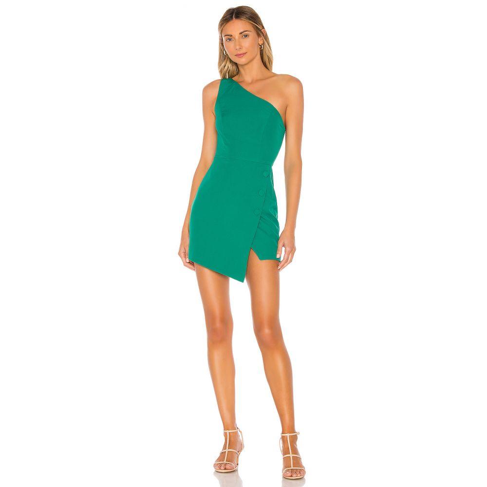 エヌビーディー NBD レディース ワンピース ワンピース・ドレス【Tere Mini Dress】Kelly Green