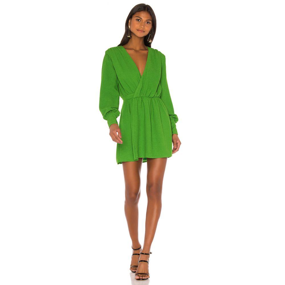 エヌビーディー NBD レディース ワンピース ワンピース・ドレス【Benita Mini Dress】Moss Green