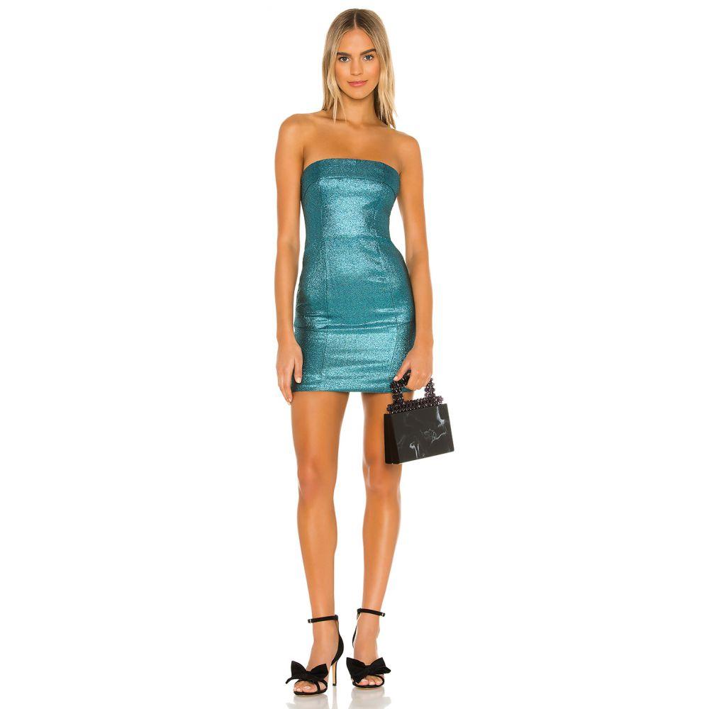 エヌビーディー NBD レディース ワンピース ワンピース・ドレス【Aphrodite Mini Dress】Aquatic Blue