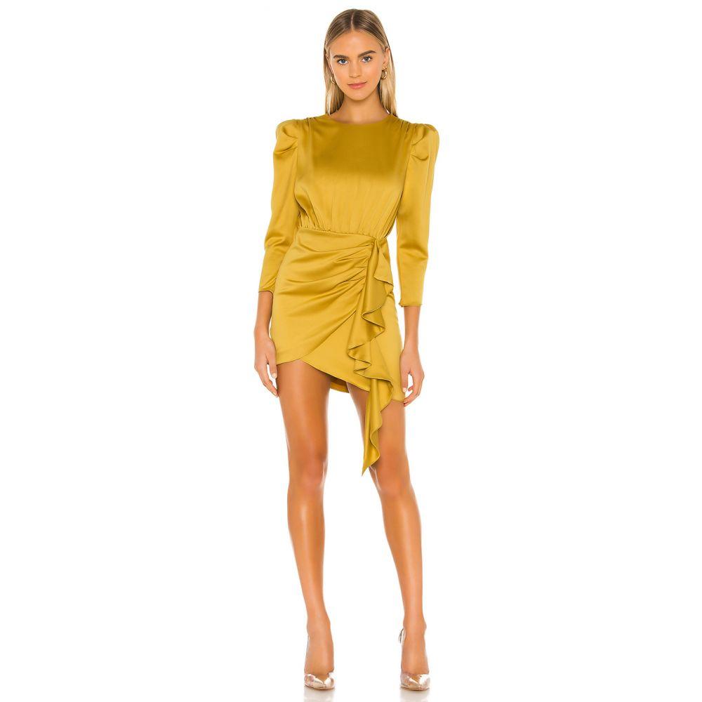 エヌビーディー NBD レディース ワンピース ワンピース・ドレス【Pandora Dress】Mustard Yellow