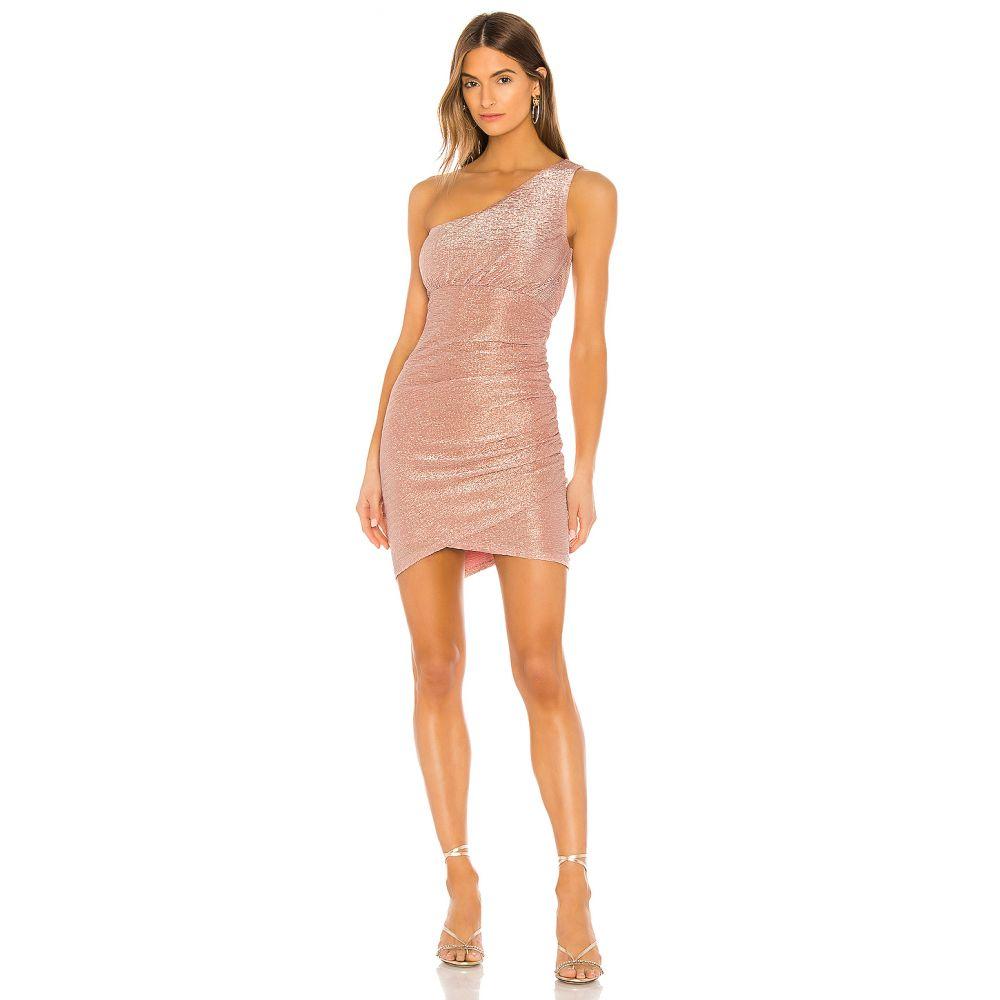 エヌビーディー NBD レディース ワンピース ワンピース・ドレス【Amora Mini Dress】Rose Gold