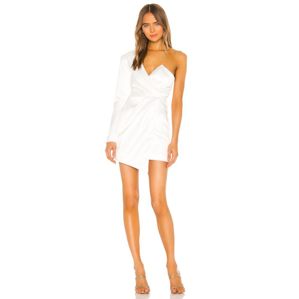 エヌビーディー NBD レディース ワンピース ワンピース・ドレス【Vanity Mini Dress】White