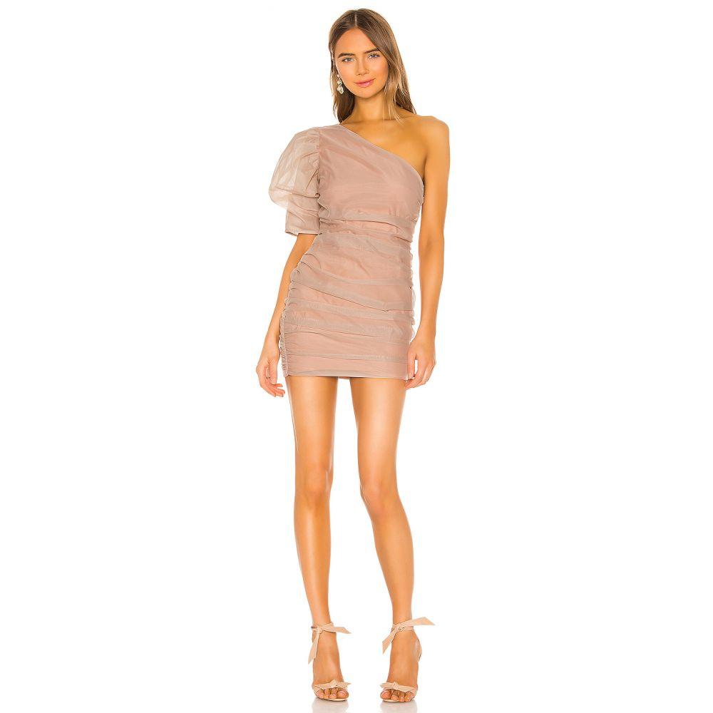 エヌビーディー NBD レディース ワンピース ワンピース・ドレス【Mariska Mini Dress】Nude