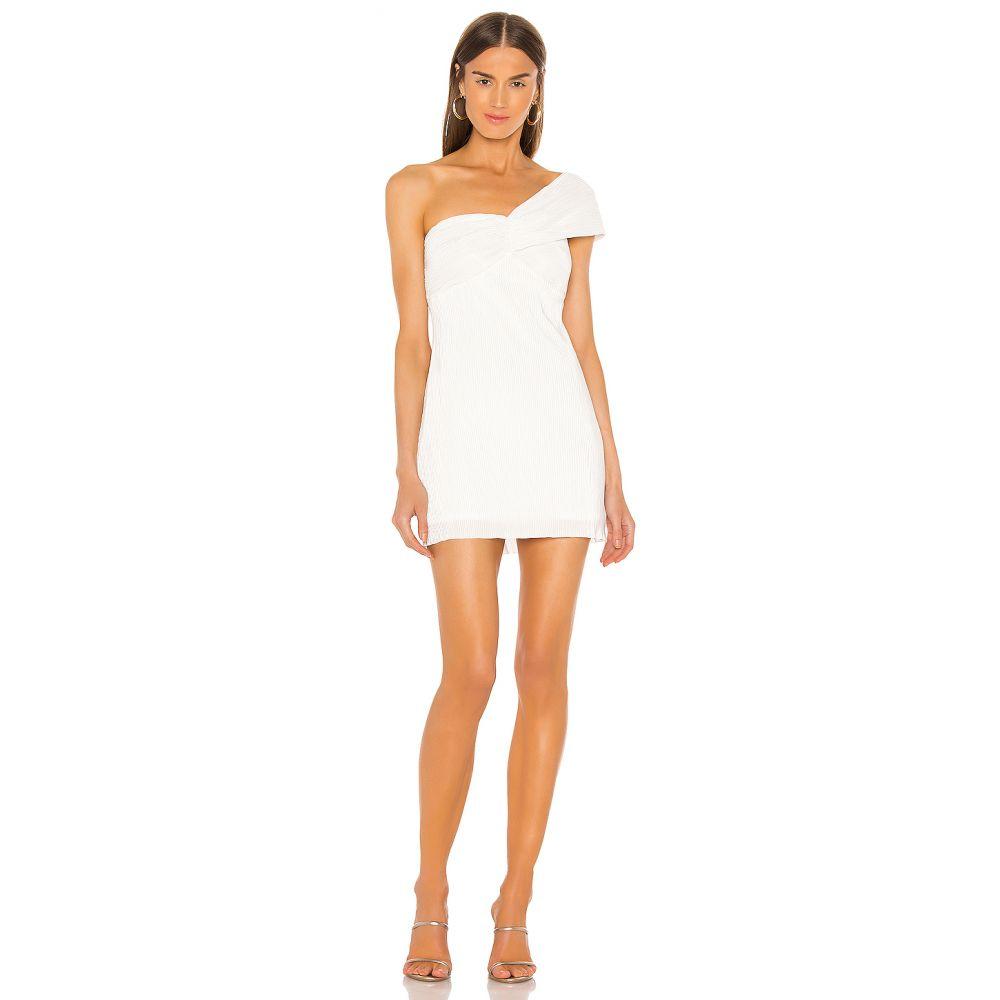 エヌビーディー NBD レディース ワンピース ワンピース・ドレス【Cleo Mini Dress】Metallic White
