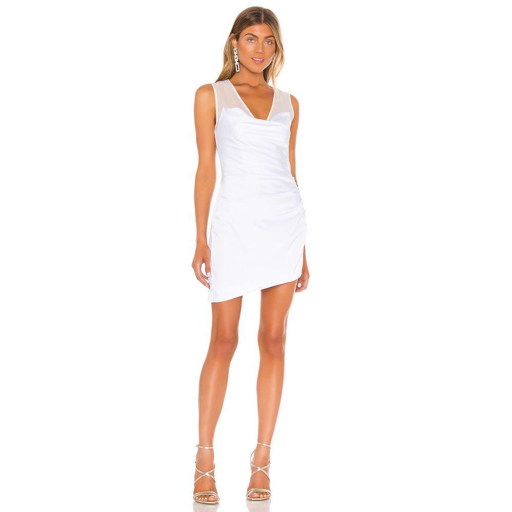 エヌビーディー NBD レディース ワンピース ワンピース・ドレス【Nico Mini Dress】White