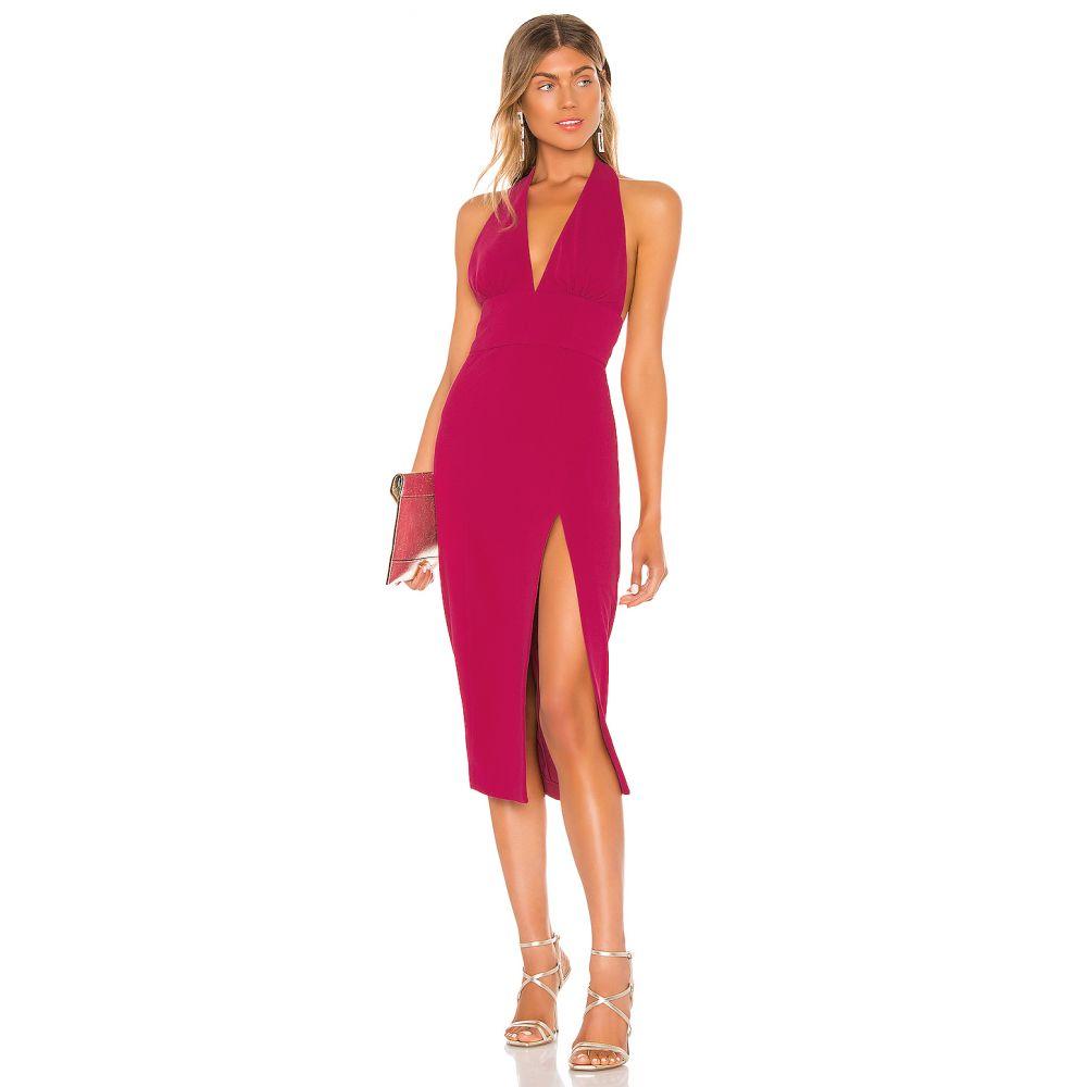 エヌビーディー NBD レディース ワンピース ワンピース・ドレス【Seamantha Midi Dress】Raspberry Pink