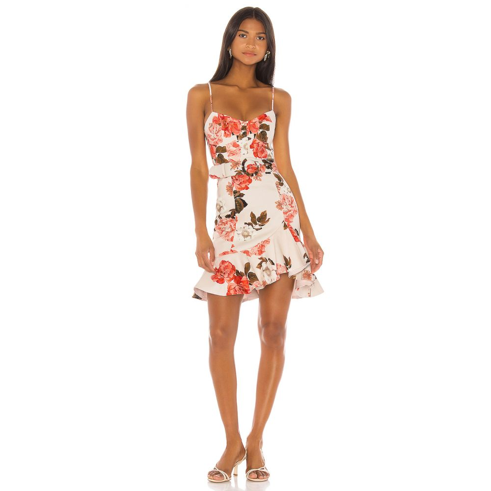 ニコラス NICHOLAS レディース ワンピース ワンピース・ドレス【Arielle Floral Frill Dress】Powder Multi