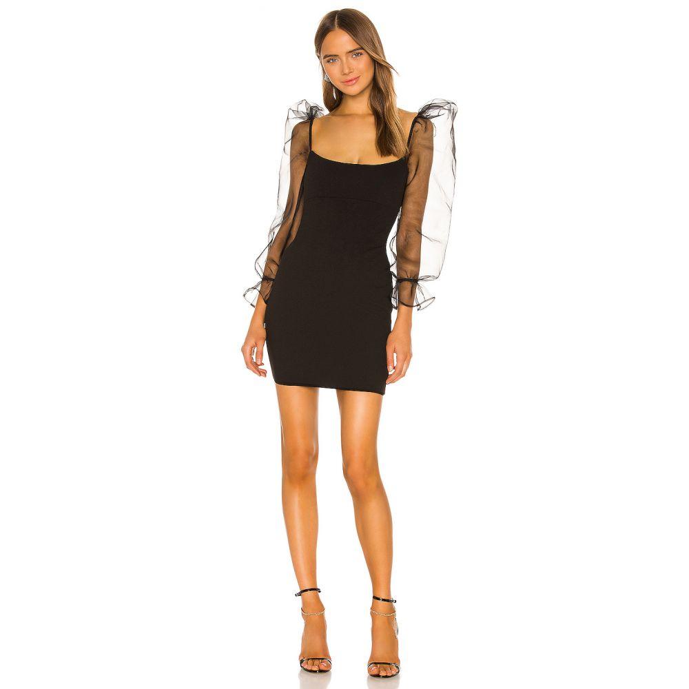ノーキー Nookie レディース ワンピース ワンピース・ドレス【Eleganza Long Sleeve Mini Dress】Black