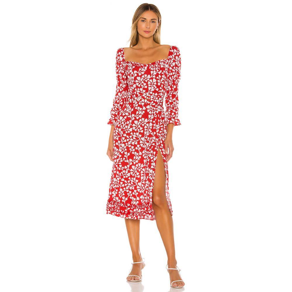 パロマ ブルー Paloma Blue レディース ワンピース ワンピース・ドレス【Isla Dress】Azalea Red