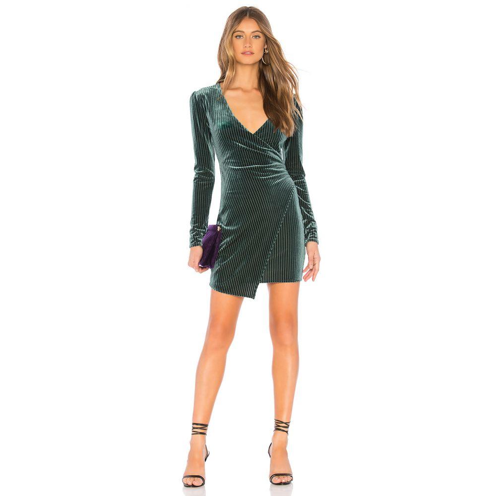 プライバシー プリーズ Privacy Please レディース ワンピース ワンピース・ドレス【Hayden Mini Dress】Moss Green