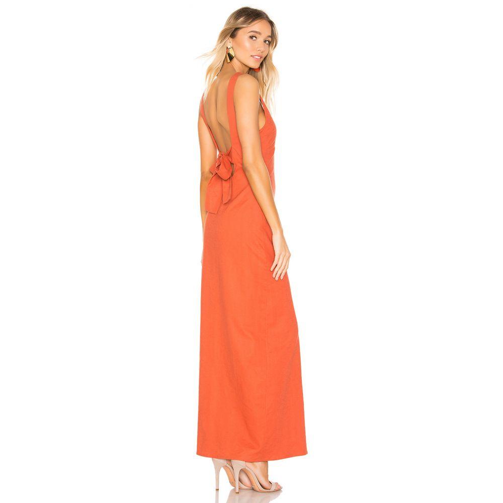 プライバシー プリーズ Privacy Please レディース ワンピース ワンピース・ドレス【Redondo Maxi Dress】Burnt Orange